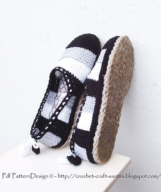 Ravelry: NEW Tailored CORD-Soles + Sole Treatment - Turn home slippers into street shoes. Pattern/Tutorial by Ingunn Santini