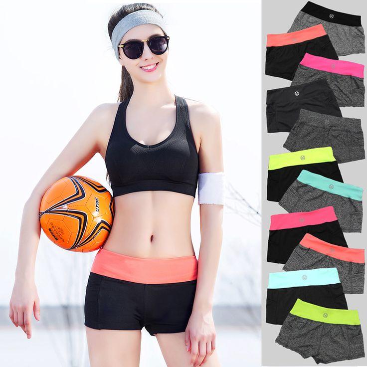 10 colores de Las Mujeres Pantalones Cortos de Verano 2016 de Las Mujeres de Moda CasualQuick Elasticidad mujeres Pantalones Cortos Frescos de secado