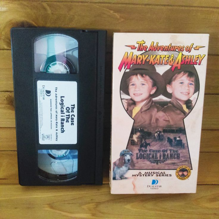 1995 The Adventures of Mary Kate and Ashley The Case of the Logical i Ranch VHS Musical Mystery Series by HouseofOHvintage on Etsy