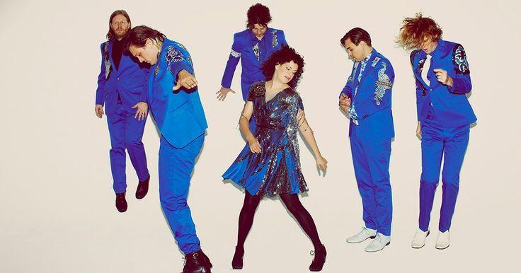 Arcade Fire Preview New Album, Tour With Euphoric 'Everything Now' #headphones #music #headphones