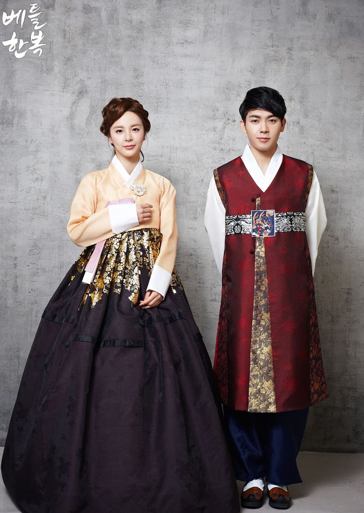 Korean traditional clothes. #wedding #marriage #couple