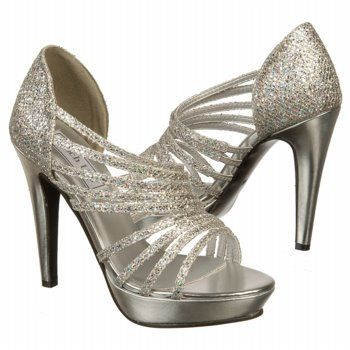 Touch Ups by Benjamin Walk Carey Shoes (Silver) - Women's Shoes - 10.5 M