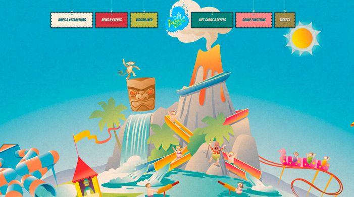 Adventure World website
