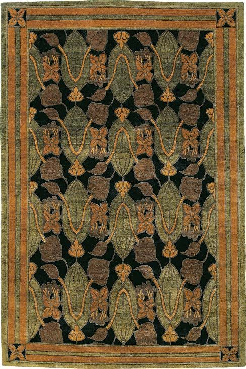 Beautiful Arts And Crafts Style Rug