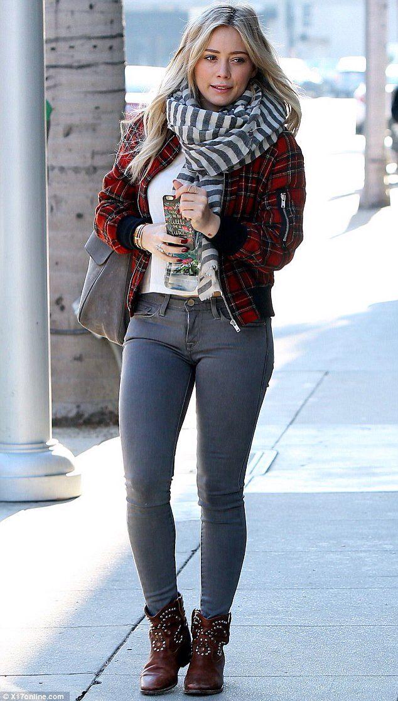 Hilary Duff- street style