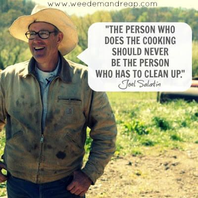 10 Reasons Why you need to remember the name Joel Salatin - Have you ever wondered where all the good farmers have gone?  Seriously, though. When I look at all the GMO-growin' going on in my town and hear of