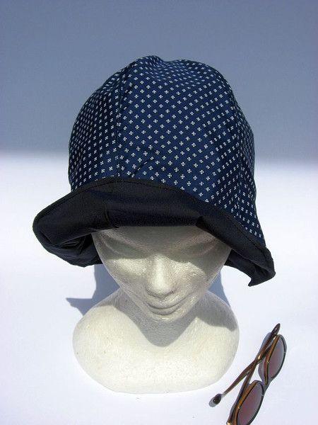 Hüte - leichter Sommer Sonnenhut Glocke - ein Designerstück von Janecolori bei…