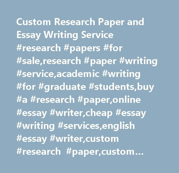 Graduate school papers for sale