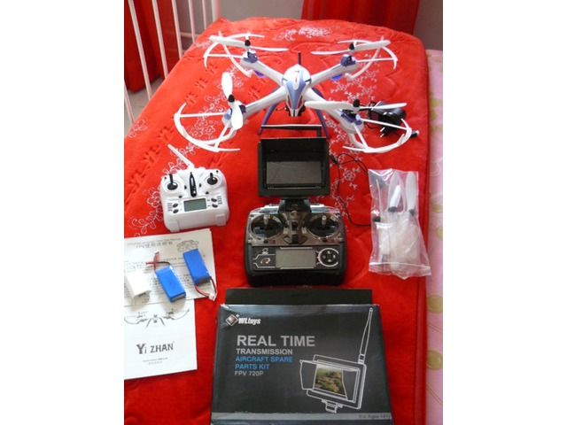 UPGRADED R/C DRONE WITH STILL/VIDEO CAMERA