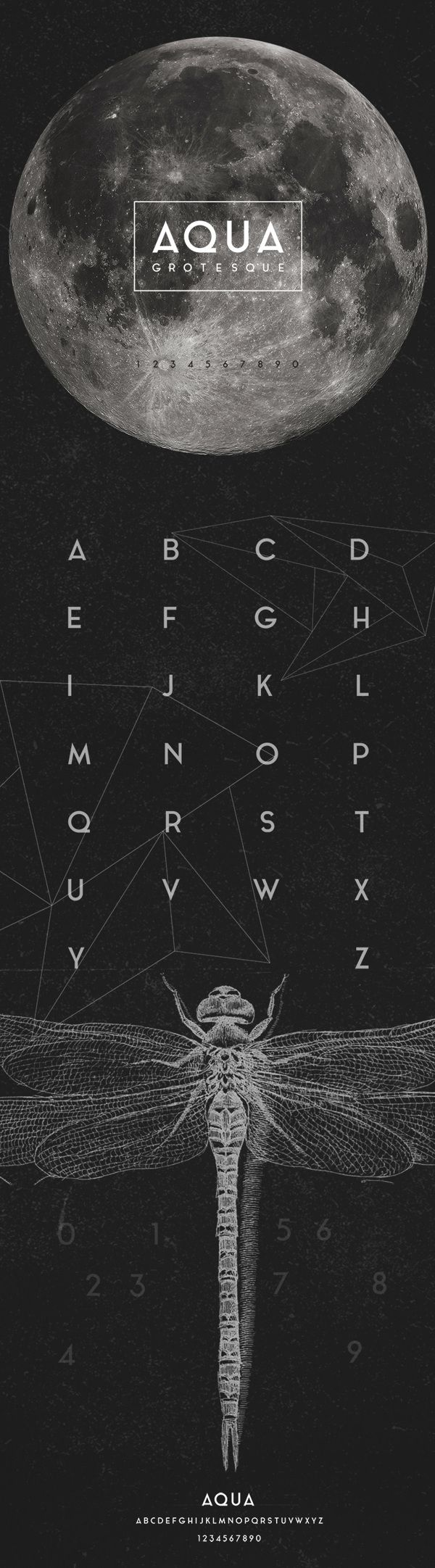 Aqua Grotesque is a free font featured by geometric shapes. Created and released…