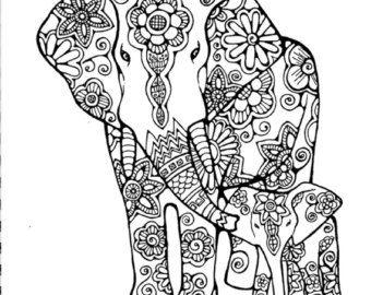 Malvorlagen Elefanten Mandala My Blog