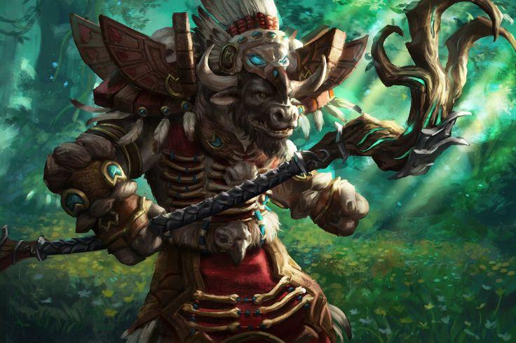 WoW Legion - Tauren Druid by anotherwanderer on DeviantArt