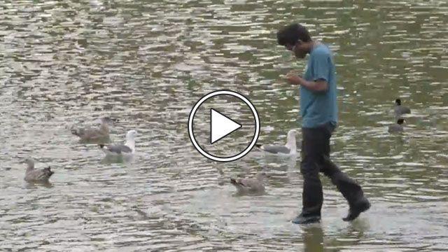 Walking on Water Prank