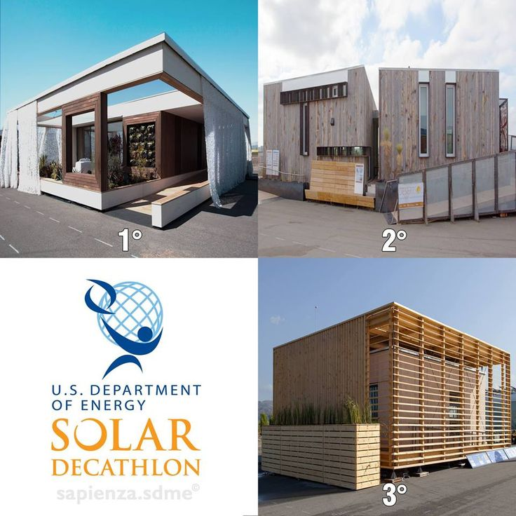 In October 2013, 19 teams from colleges and universities in the #United States, #Austria, #Canada, and the #Czech Republic competed in the sixth U.S. Department of Energy Solar Decathlon to design, build, and operate the most attractive and energy-efficient solar-powered house. On Oct. 12, after the closest competition ever, Team Austria: #Vienna University of #Technology was declared victorious. Close behind were the #University of Nevada Las Vegas and #Czech Technical University.