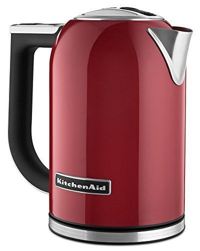 KitchenAid KEK1722ER 1.7-Liter Electric Kettle with LED Display - Empire Red by KitchenAid