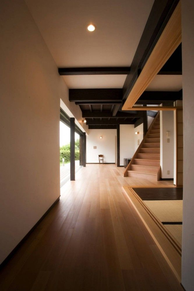 10 Ken House by Coordinate House NOGAMI Office: Ken House, House Design, Stairs, House Style, Coordinating House, Architecture Inspiration, Japanese Style, House Nogami, Architecture Japan House
