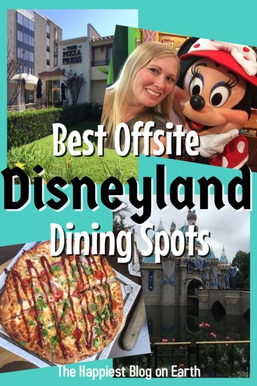 Best offsite Disneyland dining spots. Close enough to walk from Disneyland, good…