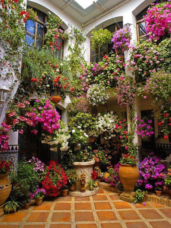 Container garden idea.