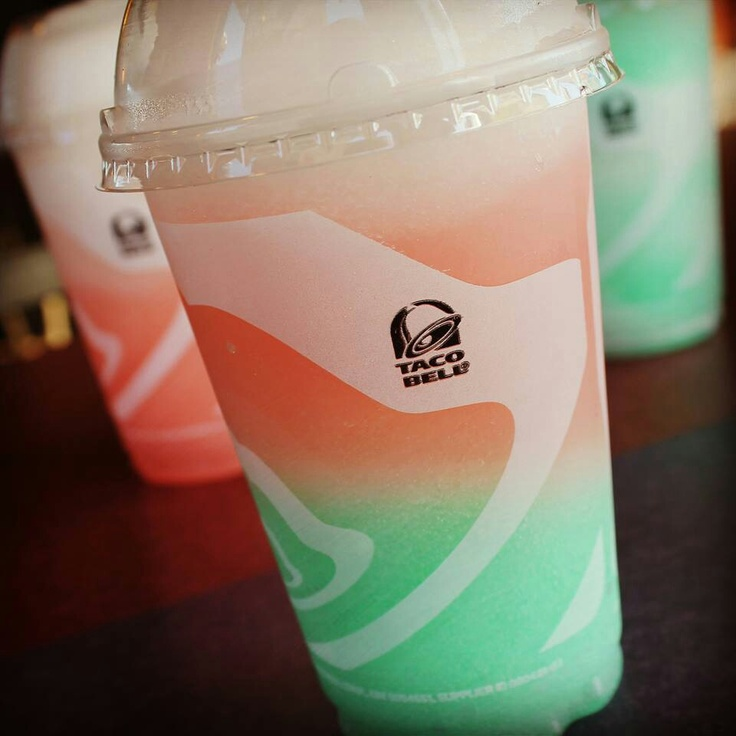 Rainbow Freeze from Taco Bell<33