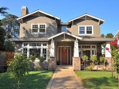 Craftsman Style Home- porch columns