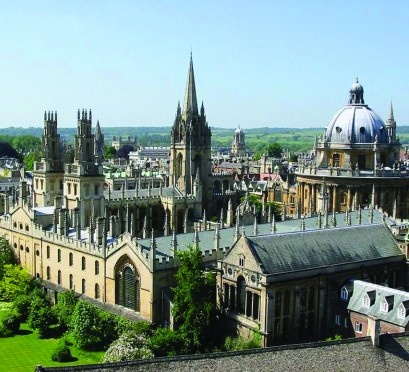 Oxford University - so interesting - visited with my mom in the 90's