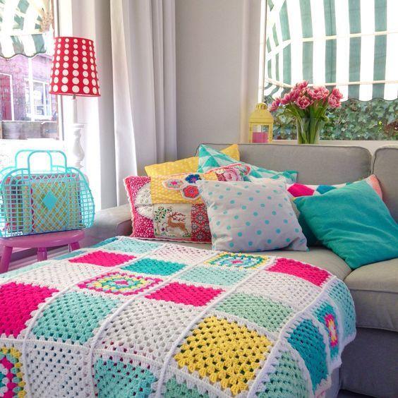Casinha colorida: Ambientes com espírito Cottage Chic