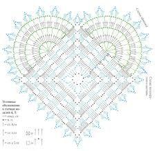 Handmade-kursy ,wzory ,tutoriale: Szydełkowe serca-schematy