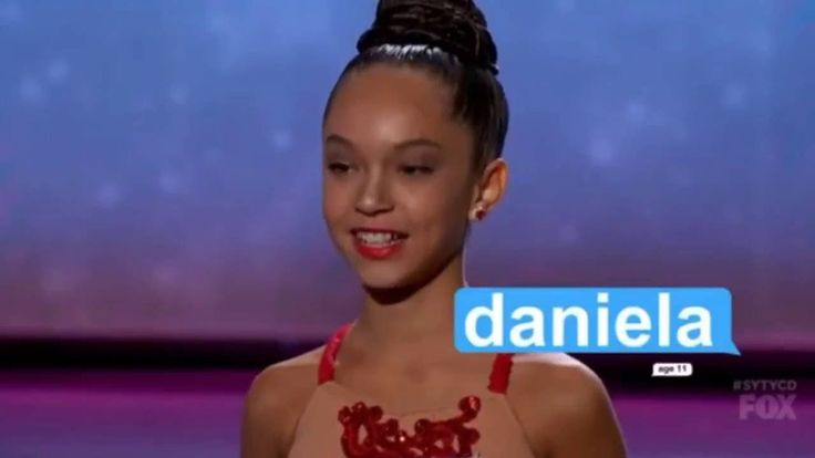 Daniela Avanzini. So You Think You Can Dance The Next Generation Audition