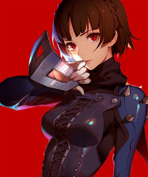 Artist: Asukaziye | Shin Megami Tensei: Persona 5 | Niijima Makoto | Queen