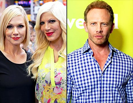 Jennie Garth reveals how Ian Ziering insulted Tori Spelling's reality show