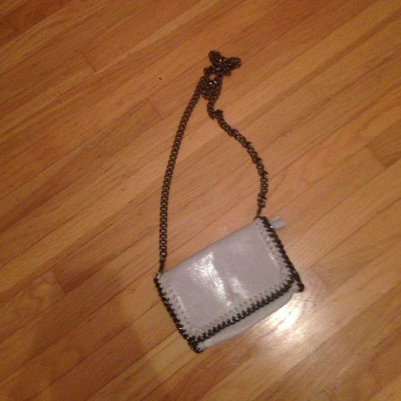 yves st laurent handbag - White leather purse | Leather Purses, Stella Mccartney Bag and ...