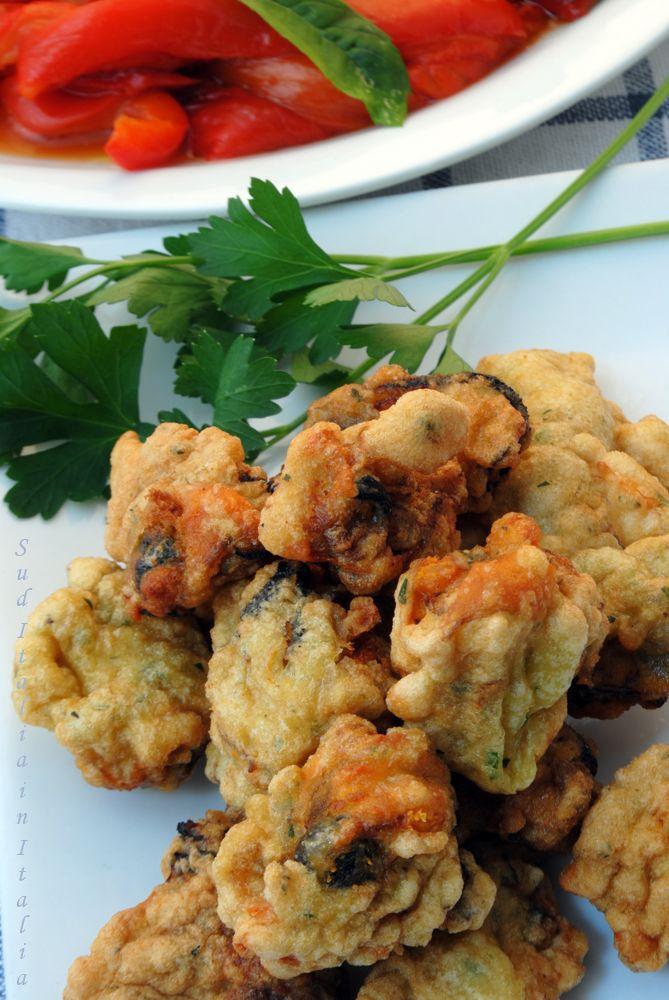 Cozze Dorate e Fritte http://blog.giallozafferano.it/suditaliaincucina/cozze-dorate-fritte/