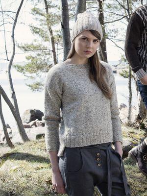 Pull Une femme de Novita Finlande Villa, Novita Automne 2015