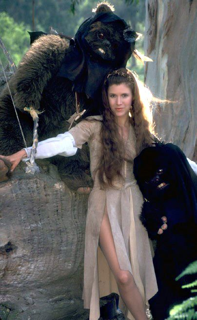 Princess Leia - Ewok Dress