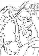 Malebog. Tegninger Teenage Mutant Ninja Turtles47