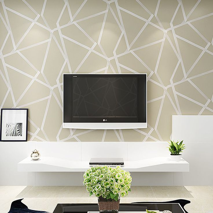 White,Teal,Beige,Gold Geometric Wallpaper Modern Glitter Metallic Wall Paper Luxury For Bedroom Living Room Large Triangle Roll-in Wallpapers from Home Improvement on Aliexpress.com | Alibaba Group
