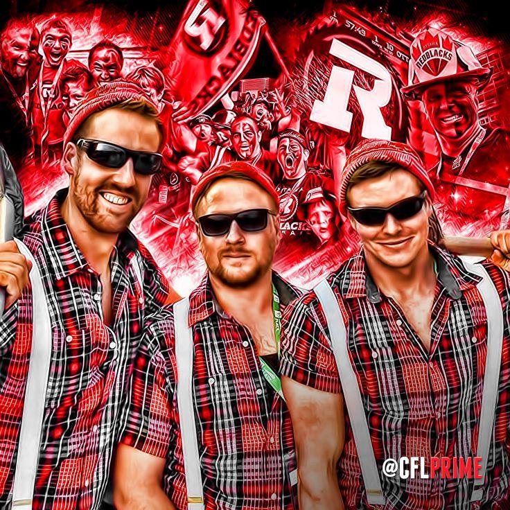 Ottawa REDBLACKS Fans (2015)