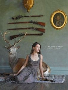 """Chicks with Guns by Lindsay McCrum. First """"coffee table book"""" I've owned in years. I like the fine-art photography and the women's narrative about their guns. It's an ice-breaker......."""