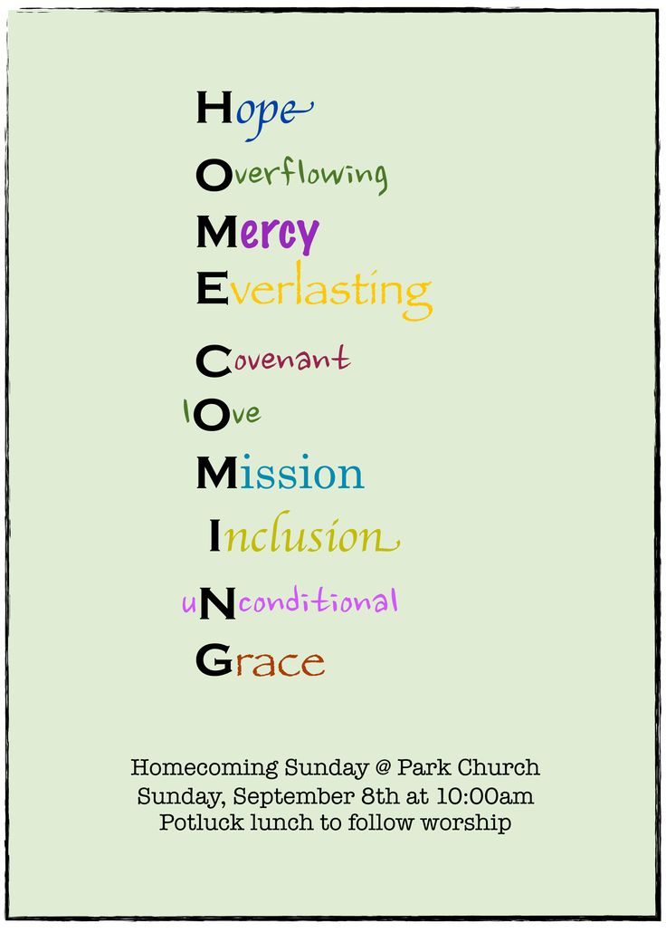 35 best images about church homecoming ideas on Pinterest ...