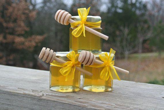 Des faveurs nuptiales de douche des faveurs de miel 55 pots