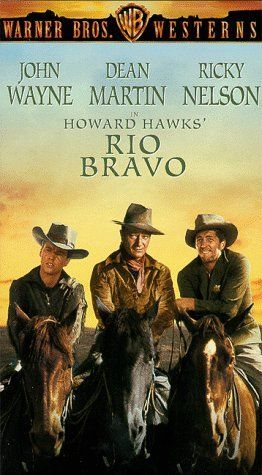 1959, Rio Bravo.  My favorite movie; I've seen it at least 50 times; I can quote it line by line.