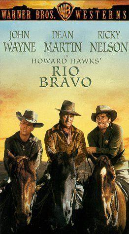 """RIO BRAVO"". (1959) JOHN WAYNE, DEAN MARTIN, RICK NELSON"