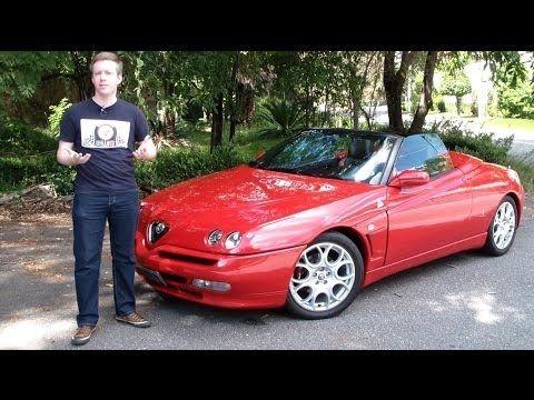Garagem do Bellote TV: Alfa Romeo Spider (kit Novitec, escape esportivo ...