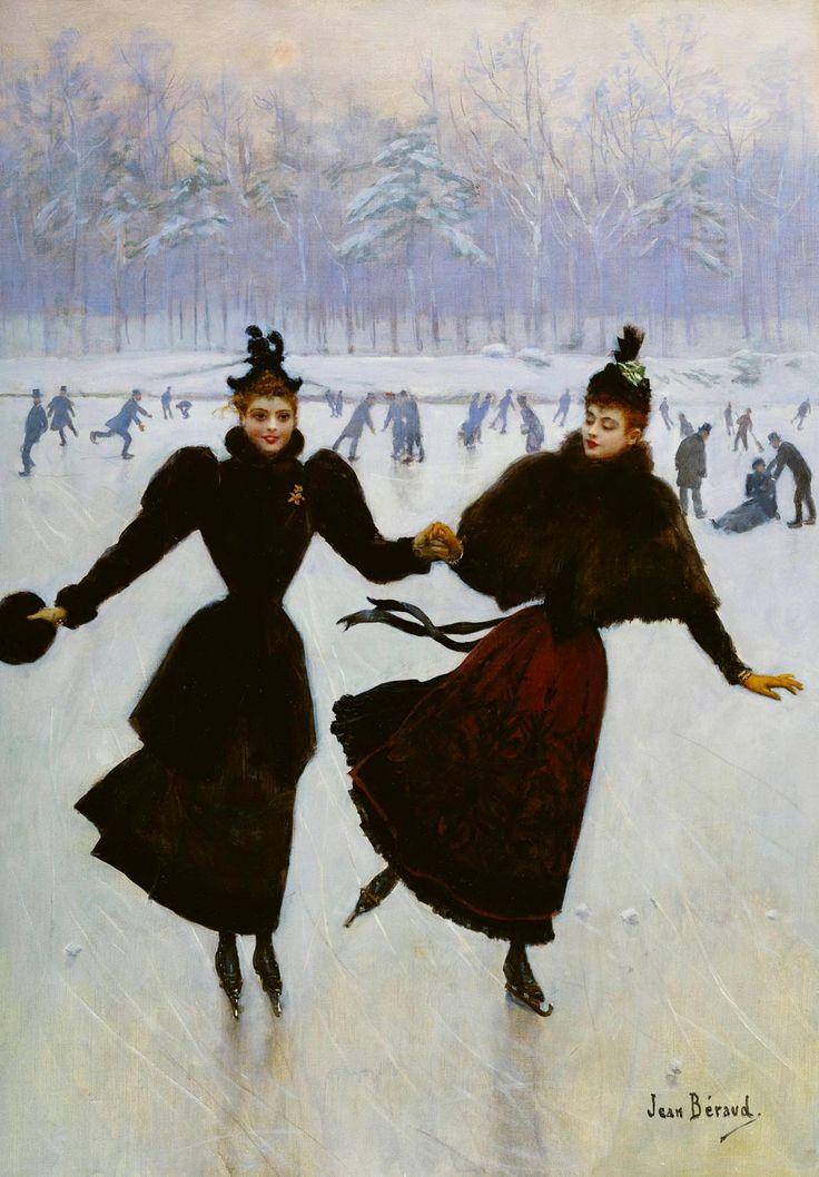 Жан Беро «Катание на коньках»