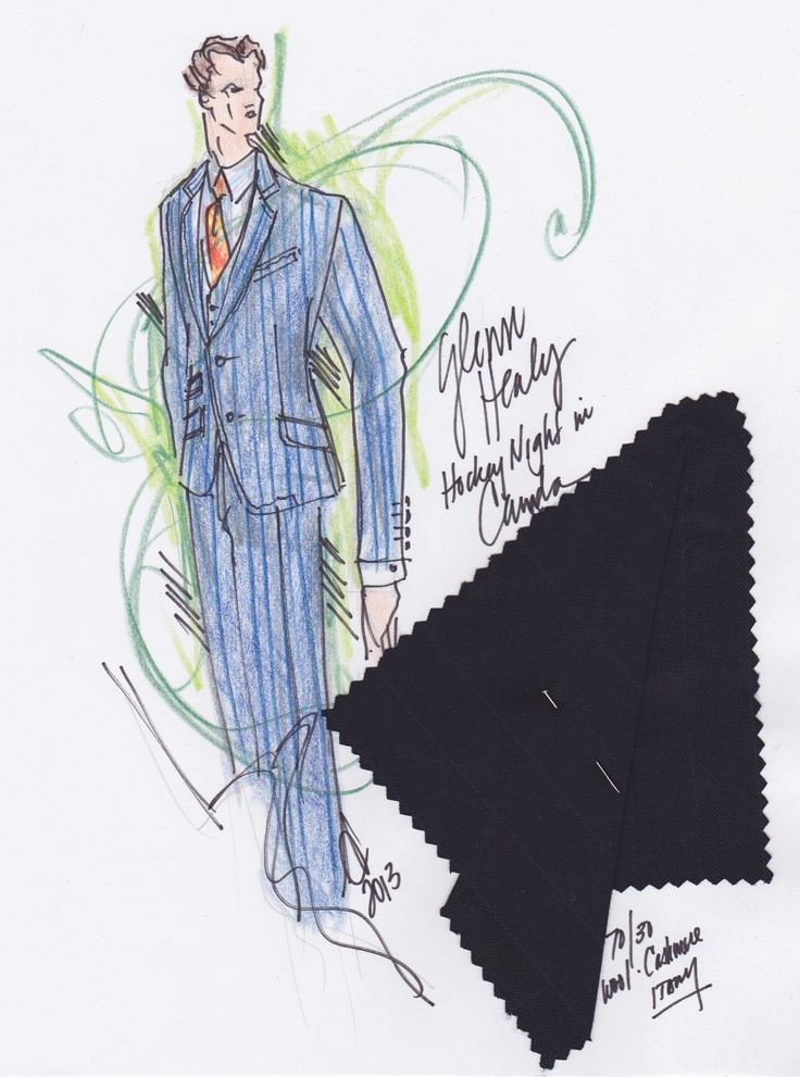 Here's a special look at how Glenn Healy's outfit came together.