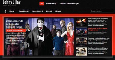 Guney59 Paylaşım : Blogger Özel Tasarım Johny Jijay Film Galeri Şablo...