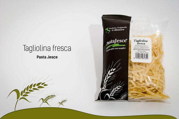 Pasta Jesce propone ricette con tagliolina fresca con semola di grano duro trafilata al bronzo. Ricette con tagliolina fresca tipiche emiliane.