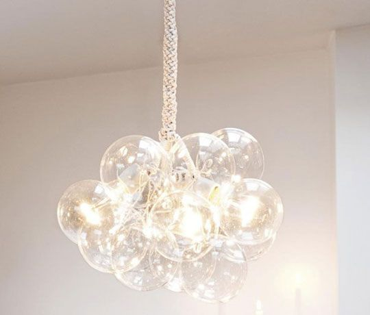 DIY bubble lamp