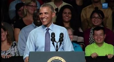 Full Video: President Obama: Speech at Macomb Community College in Warren, Michigan, Sept. 9, 2015