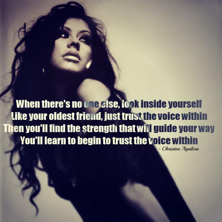 17 Best Images About Christina Aguilera Lyrics On